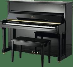 Essex EUP-123 E Piano zwart | Schumer Piano's & Vleugels