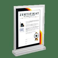 Zertifikat | Schumer Piano's & Vleugels