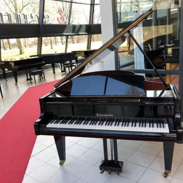 Bosendorfer 200 vleugel zwart | Schumer Piano's & Vleugels
