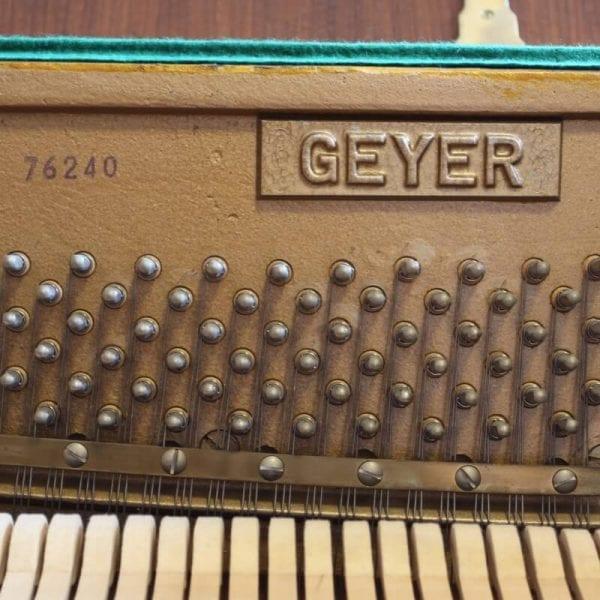 Geyer piano | Schumer Piano's & Vleugels