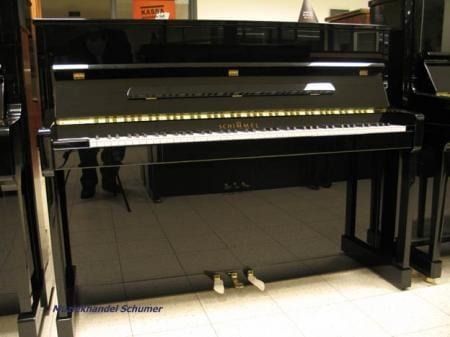 Schimmel 116 T silent piano zwart   Schumer Piano's & Vleugels