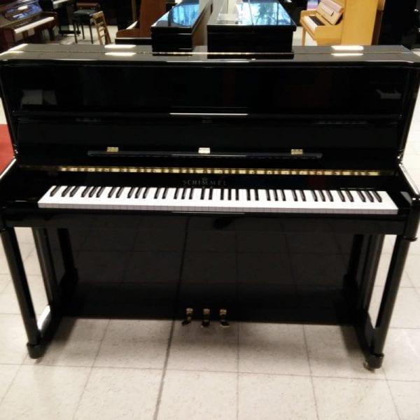 Schimmel 122 piano zwart | Schumer Piano's & Vleugels