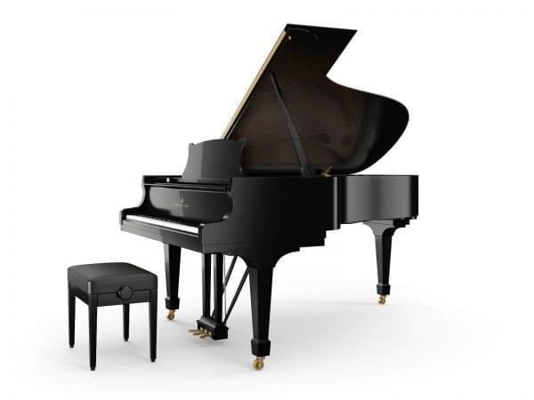 Steinway & Sons Piano zwart | Schumer Piano's & Vleugels